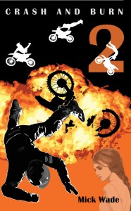 Motocross Mystery books for teens - Crash and burn