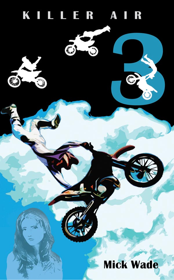 Motocross Mystery Books for teens - Killer Air